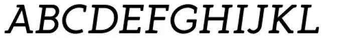 Gambero Regular Italic Font UPPERCASE