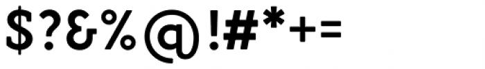 Gambero Semi Bold Font OTHER CHARS