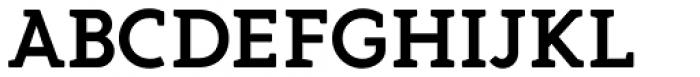 Gambero Semi Bold Font UPPERCASE