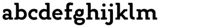 Gambero Semi Bold Font LOWERCASE
