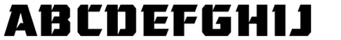 Gamer Font UPPERCASE