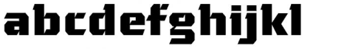 Gamer Font LOWERCASE