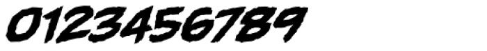 Gamma Rays BB Italic Font OTHER CHARS