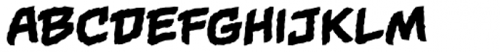 Gamma Rays BB Font UPPERCASE