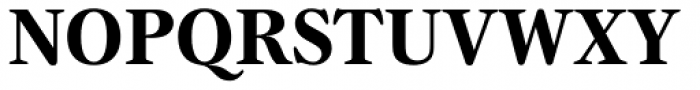 Gamma Std Bold Font UPPERCASE