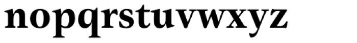 Gamma Std Bold Font LOWERCASE