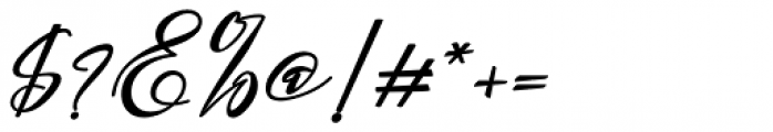 Gamos Bold Italic Font OTHER CHARS