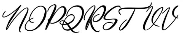 Gamos Bold Italic Font UPPERCASE