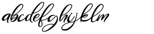 Gamos Bold Italic Font LOWERCASE