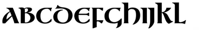 Gandalf Black Font UPPERCASE