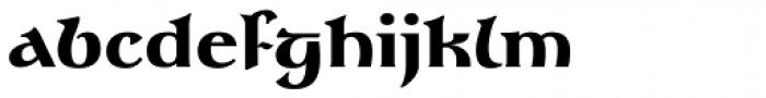 Gandalf Black Font LOWERCASE