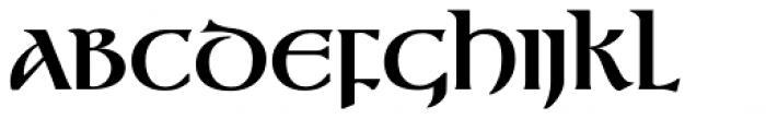 Gandalf Bold Font UPPERCASE