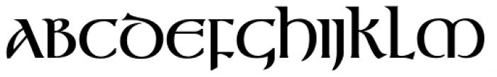Gandalf Medium Font UPPERCASE