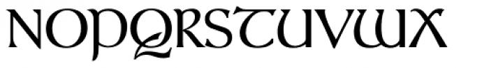 Gandalf Regular Font UPPERCASE
