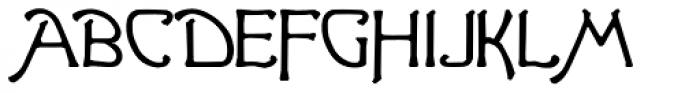 Ganelon Lowercase Font UPPERCASE
