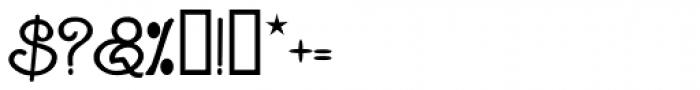 Ganelon Font OTHER CHARS