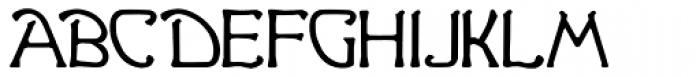 Ganelon Font LOWERCASE