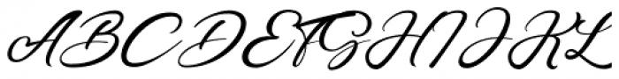 Ganetha Regular Font UPPERCASE