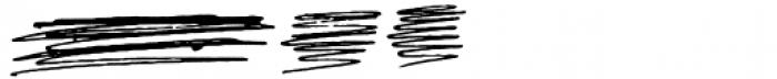 Gangrena Dingbats 2 Font LOWERCASE