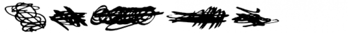 Gangrena Dingbats 3 Font OTHER CHARS