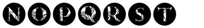 Gans Antigua Decorative10 Font UPPERCASE