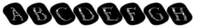 Gans Antigua Decorative12 Font UPPERCASE