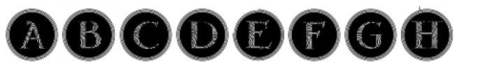 Gans Antigua Decorative4 Font UPPERCASE
