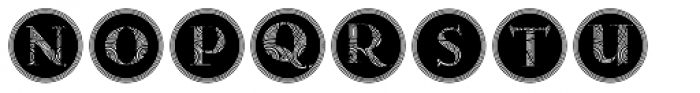 Gans Antiqua Decorative3 Font UPPERCASE