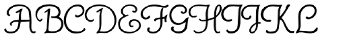 Gans Royality Font UPPERCASE