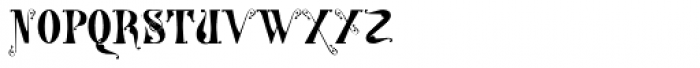 Gans Tipo Adorno Solid Font LOWERCASE