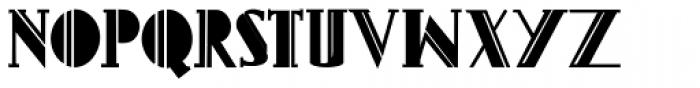 Gans Titania Bold Font UPPERCASE