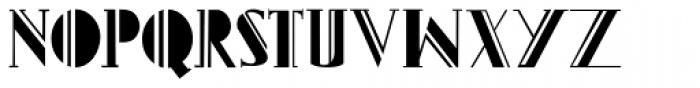 Gans Titania Font UPPERCASE