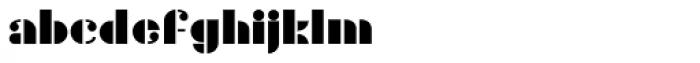 Gans Titania Font LOWERCASE