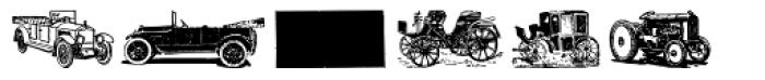 Gans Transportation Medium Font UPPERCASE