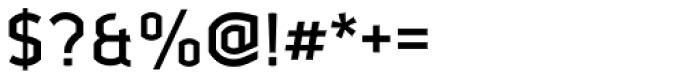 Ganymede Medium Font OTHER CHARS
