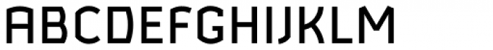 Ganymede Medium Font UPPERCASE