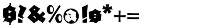 Ganz Grobe Gotisch D Font OTHER CHARS