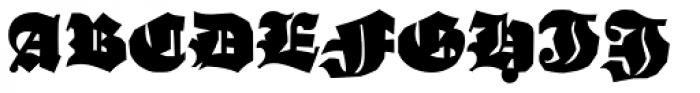 Ganz Grobe Gotisch D Font UPPERCASE