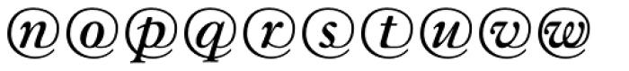 Gara Mail EF Regular Font LOWERCASE