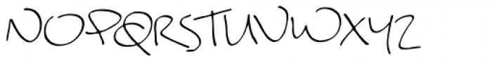 Garabata Font UPPERCASE