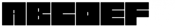 Garagin Rock Lite Font LOWERCASE