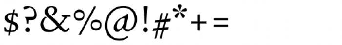 Garalda Regular Font OTHER CHARS