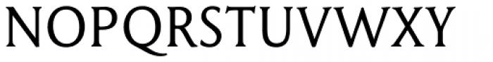 Garaline Regular Font UPPERCASE