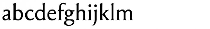 Garaline Regular Font LOWERCASE