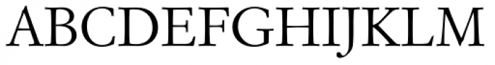 Garam Simon SB Roman OsF Font UPPERCASE