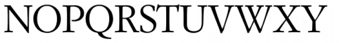 Garam Simon SH Roman Font UPPERCASE