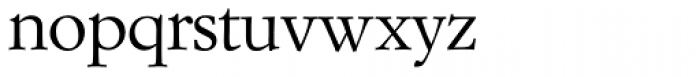 Garam Simon SH Roman Font LOWERCASE