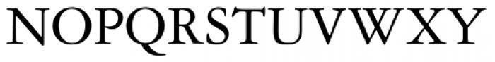 Garamond 3 Font UPPERCASE