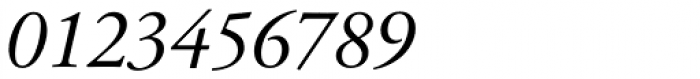 Garamond 96 DT Italic Font OTHER CHARS