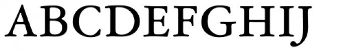 Garamond ATF Micro Font UPPERCASE